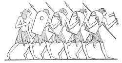 Ancient Egyptian Soldiers Who Helped Build The Pyramids