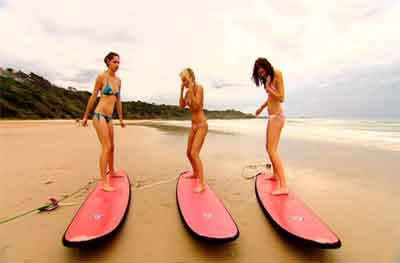 Australian Beach Girls
